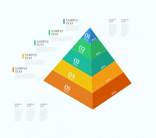 flat-vector-infographic-piramid