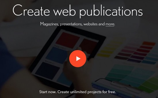 Readymag is an online drag & drop editor which helps creative professionals to easily create microsites, portfolios…