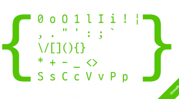 쾌적한 코딩을 위한, 코딩용 폰트