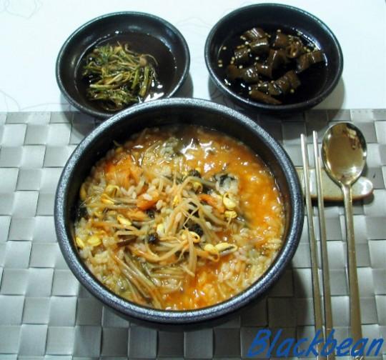 갱시기 출처: 까만콩의 요리와 수다