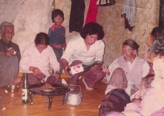 이수진 대표 조모님 사진