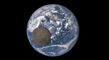 달은 왜 한쪽 면만 보일까?