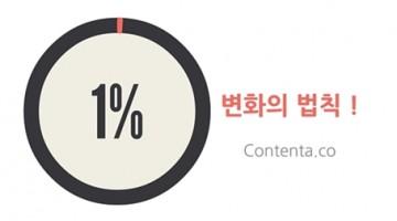 우리 회사의 콘텐츠를 변화시키는 1%의 법칙