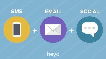 고객 참여가 늘어나는 SMS+이메일+소셜미디어 마케팅 6가지 팁