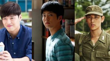 반듯해야 끌린다, 2015년의 남자배우 : 강하늘, 박보검, 임시완