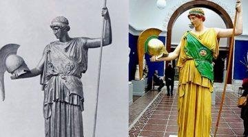 고대 그리스, 로마 조각상들은 화려한 컬러 조각상이었다