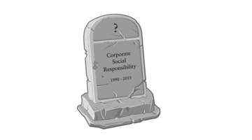 CSR은 종말을 고했나?
