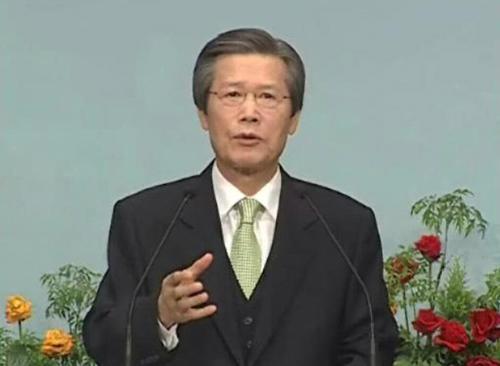 고 옥한흠 목사님의 모습 출처: 사랑의교회 홈페이지