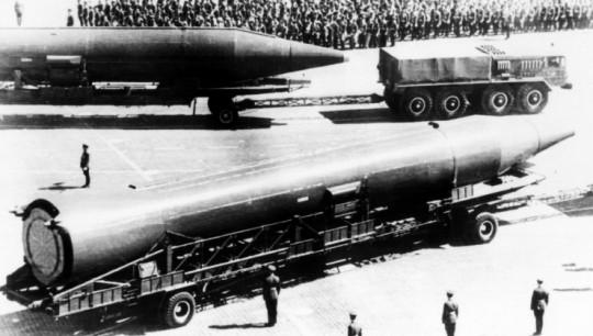 워싱턴주를 제외한 미 본토 전역에 핵타격이 가능한 것으로 알려진 R-14 미사일. 출처: 나무위키