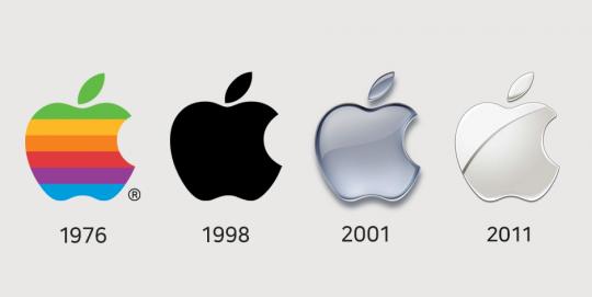 애플의 로고 변화