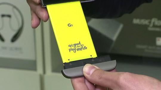 플래그십급 스마트폰 중 유일하게 배터리 교체가 가능한 LG G5
