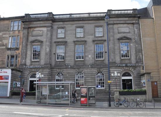 에든버러 필름하우스 시네마(Filmhouse Cinema, Edinburgh)의 전경. 출처: flickriver