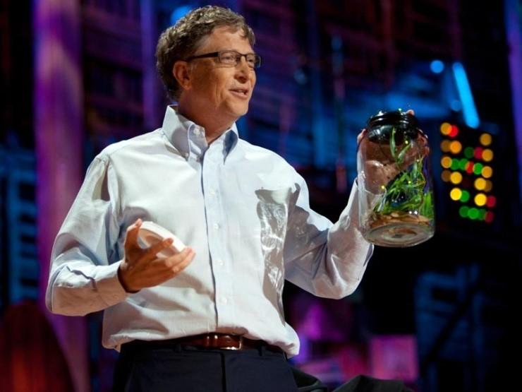 빌 게이츠입니다. 출처: TED