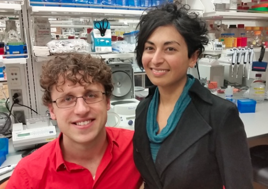 소니아와 에릭 in Lab