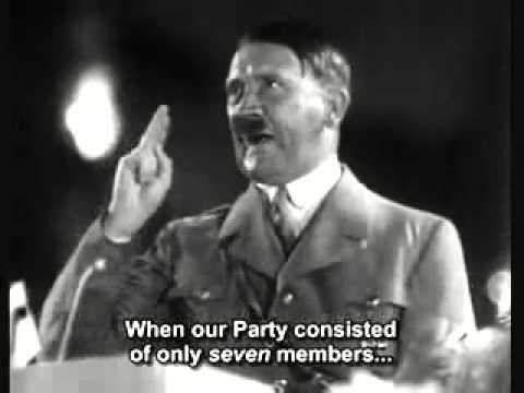 나치당도 시작은 7명으로 했다.