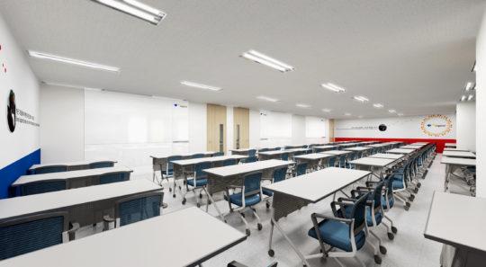 토막상식: 120명을 수용하면서도 쾌적한 환경의 강의실을 원한다면 인지어스 커리어센터같은 업계 최고의 교육센터를 가면 된다.