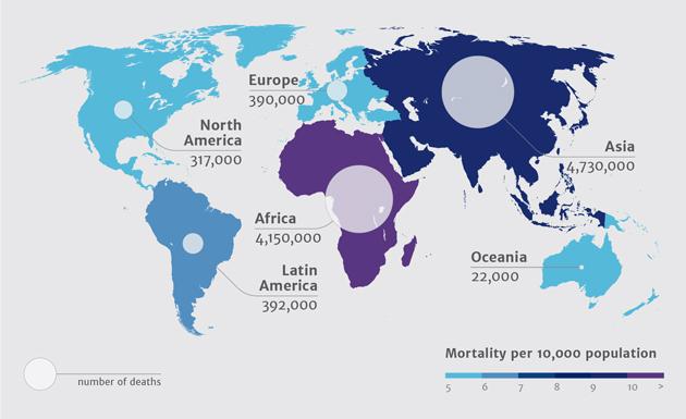 대륙별로 따지자면 이렇습니다. 출처: rsc.org