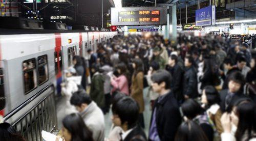 출근길 지하철그리고 주변을 둘러보니, 누가 봐도 입석을 타게 될 동지들이 보인다.