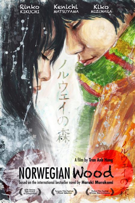 무라카미 하루키 원작, 트란 안 훙 감독의 (2010) 포스터