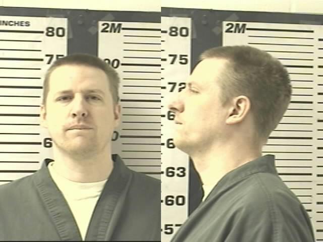 마크 오리어리: 오리어리는 콜로라도의 북동쪽 먼 곳의 감옥에 갇혔다. (콜로라도 교정 시설 제공)