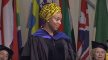치마만다 응고지 아디치에의 2015년 웰즐리 여대 졸업식 축사