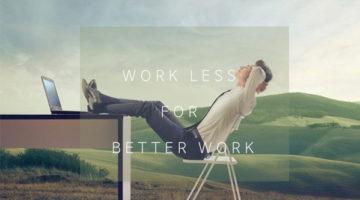 하루에 6시간만 일하면 된다면?