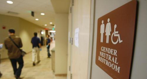 작년 미국 백악관에는 '성 중립 화장실(Gender Neutral Restroom)'이 설치됐다.