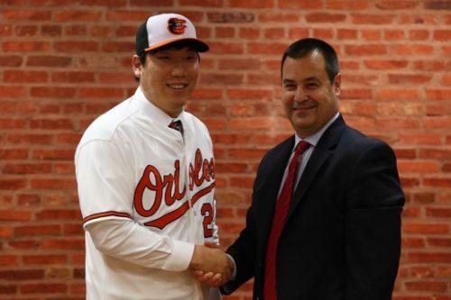 아시아 야구를 향한 볼티모어 오리올스의 관심은 유명하다. 한국 선수로는 실패를 많이 맛봤지만.