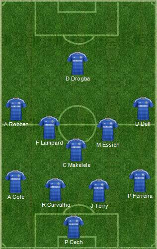 Chelsea-Mourinho-4-5-1