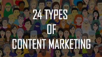 마케팅에 효과적인 콘텐츠 패턴 24가지