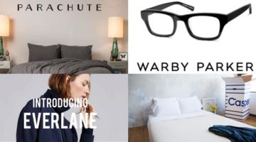 안경, 침구, 패션, 매트리스의 공통점