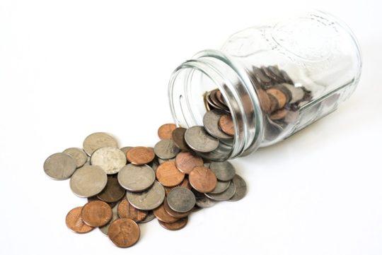 spilled-money