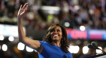 """""""미국은 이미 위대합니다."""" : 미셸 오바마의 힐러리 클린턴 지지 연설"""