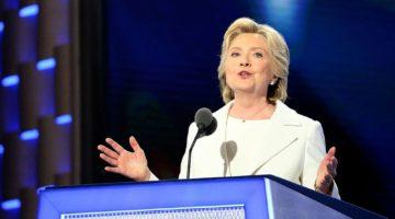 유리 천장이 사라지면 하늘만이 있을 뿐 – 힐러리 클린턴의 후보 수락 연설