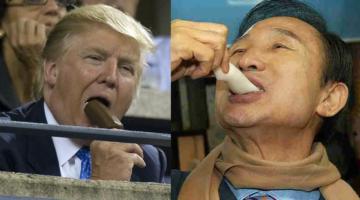 트럼프, 이명박, 성공적