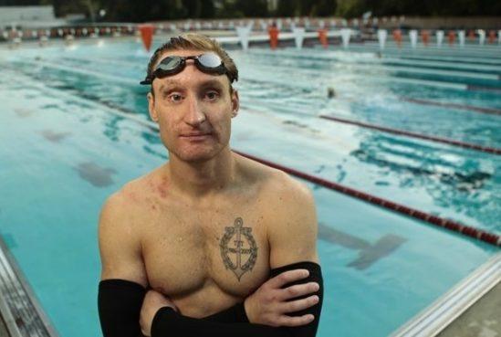 브래들리 스나이더. 시력을 상실한 이후에도 자신이 할 수 있는 일을 찾아, 마침내 패럴림픽 메달리스트가 됩니다. [출처] 모두를 위한 시계를 만드는 남자, 김형수 이야기  작성자 루트임팩트