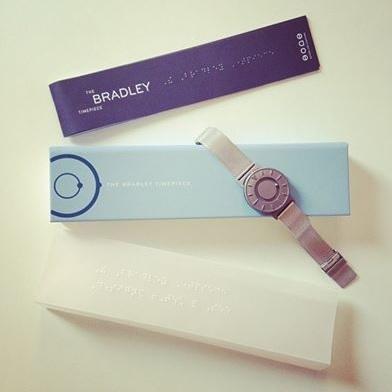 '브래들리 타임피스'의 전체적인 모습 [출처] 모두를 위한 시계를 만드는 남자, 김형수 이야기  작성자 루트임팩트