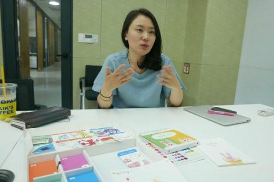 마노카드를 기획한 이유미 마노컴퍼니 대표.