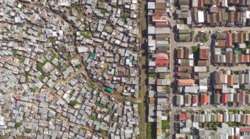 하늘에서 본 남아공의 빈부격차