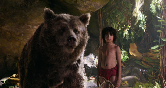 THE JUNGLE BOOK - (L-R) BALOO and MOWGLI. ?2106 Disney Enterprises, Inc. All Rights Reserved.