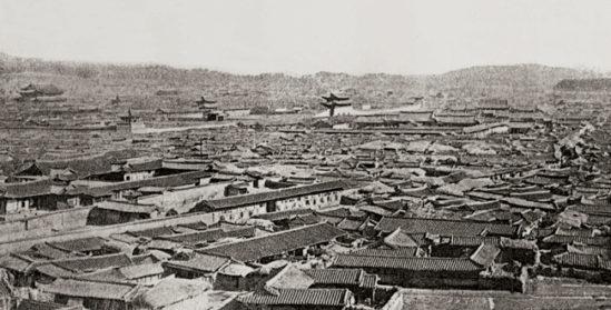 1894년 한양의 모습