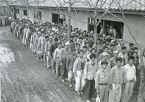 징집된 국민방위군의 모습