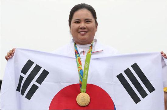 박인비 선수는 116년만에 열린 이번 리우올림픽 여자 골프에서 금메달을 목에 걸었다.