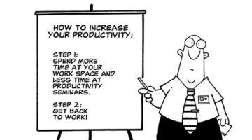 효율적으로 일하는 기술 : 작은 일 줄이기