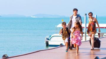 아이와 함께 여행하기: 좋은 숙박팁 & 물놀이 준비