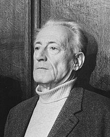 앙리 르페브르(Henri Lefebvre, 1901-1991)의 모습.