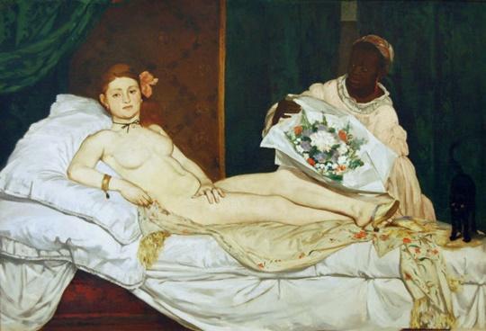에두아르 마네, 〈올랭피아〉(1865)
