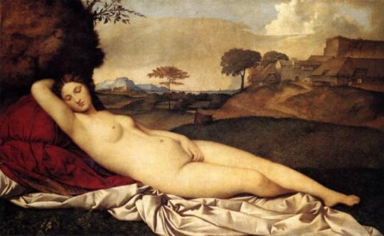 조르조네, 〈잠자는 비너스〉(1510)