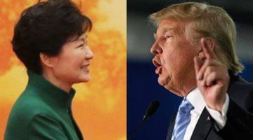 박근혜를 연상시키는 트럼프의 저질 성명서