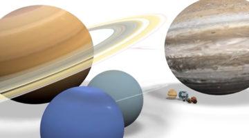 아이에게 우주의 크기를 쉽게 이해시키는 법